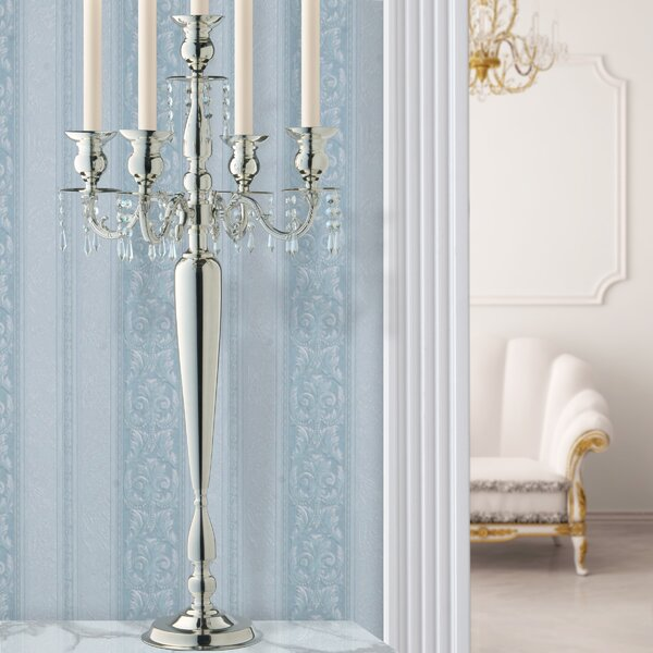 Wedding Metal Candelabra by National Tree Co.