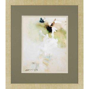 'Overjoyed I' Framed Painting Print by Brayden Studio