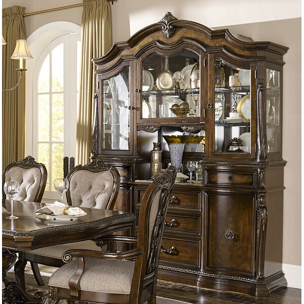 West Console China Cabinet (Set of 2) by Astoria Grand