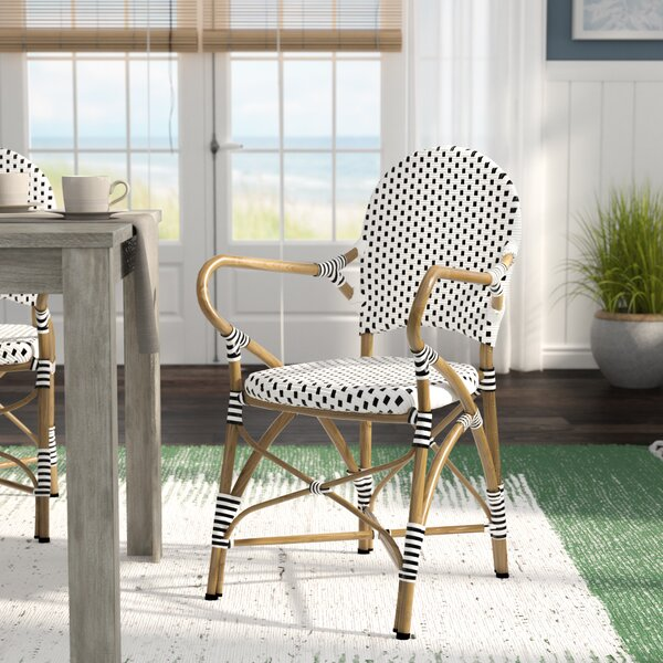 Papke Stacking Patio Dining Chair (Set of 2) by Lark Manor