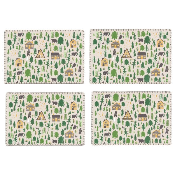 Deaver 19 Placemat (Set of 4) by Loon Peak