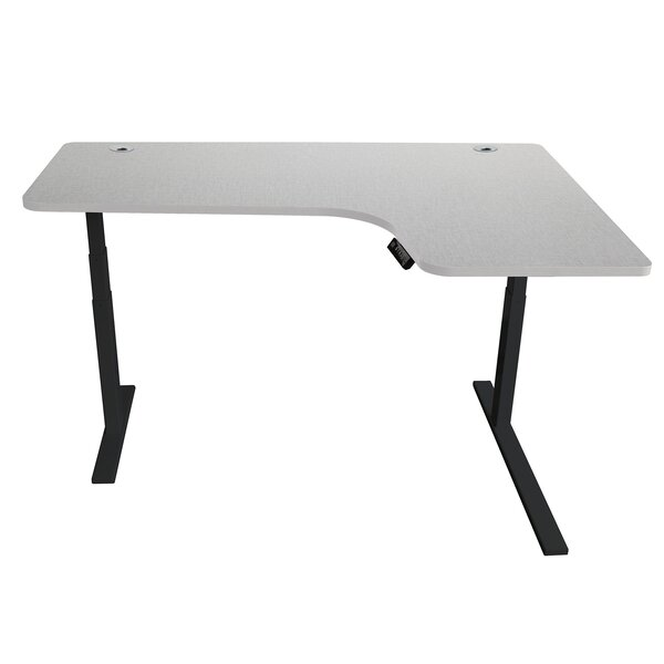 Yadira Ergonomic Height Adjustable Standing Desk by Symple Stuff