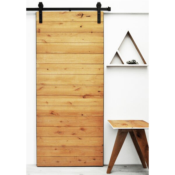 Latitude Wood 1 Panel Interior Barn Door by Dogberry Collections