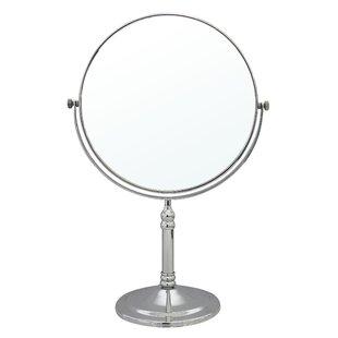 lighted tabletop vanity mirror wayfair
