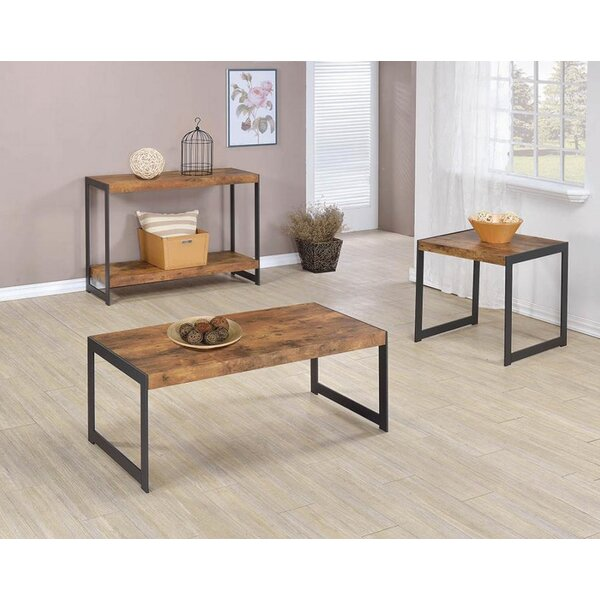 Cohan 3 Piece Coffee Table Set by Williston Forge