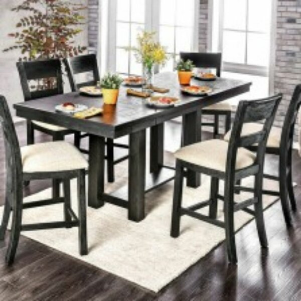 Shaver 7 Piece Counter Height Dining Set by Gracie Oaks