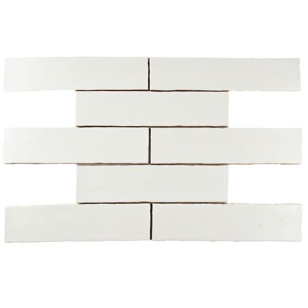 Tivoli 3 x 12 Ceramic Field Tile in Matte White by EliteTile