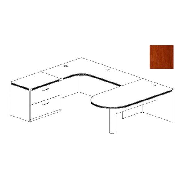 Aberdeen Series U-Shape Executive Desk by Mayline Group