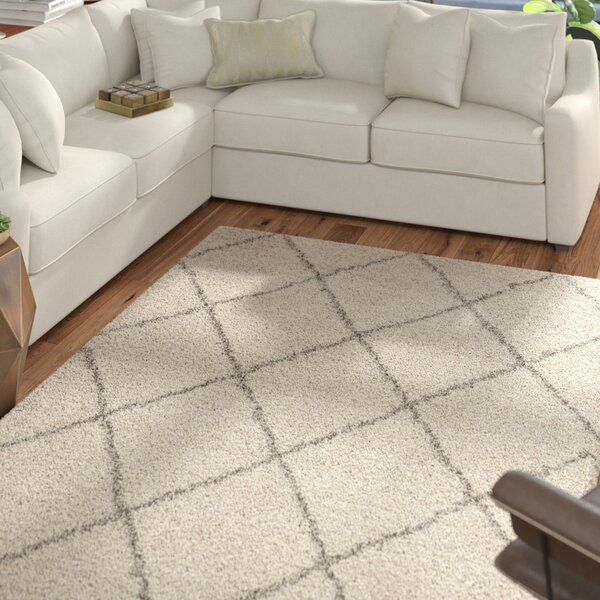 Kalypso Ivory Area Rug by Mercury Row