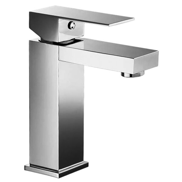 Rectangular Lever Handle Square Lavatory Single Hole Bathroom Faucet by Valley Acrylic Ltd. Valley Acrylic Ltd.