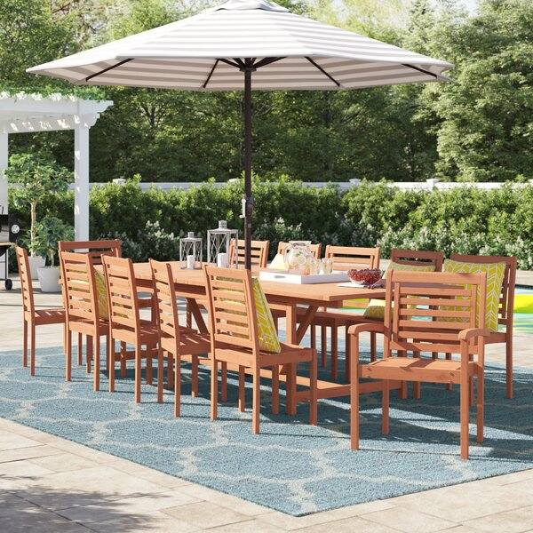 Brighton 13 Piece Dining Set by Sol 72 Outdoor