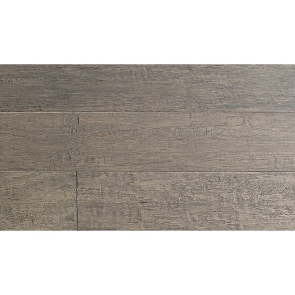 Langania 7-1/2 Engineered Hickory Hardwood Flooring in Brown by IndusParquet