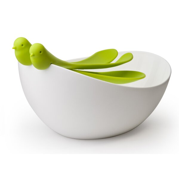Sparrow Salad Bowl by Design Ideas