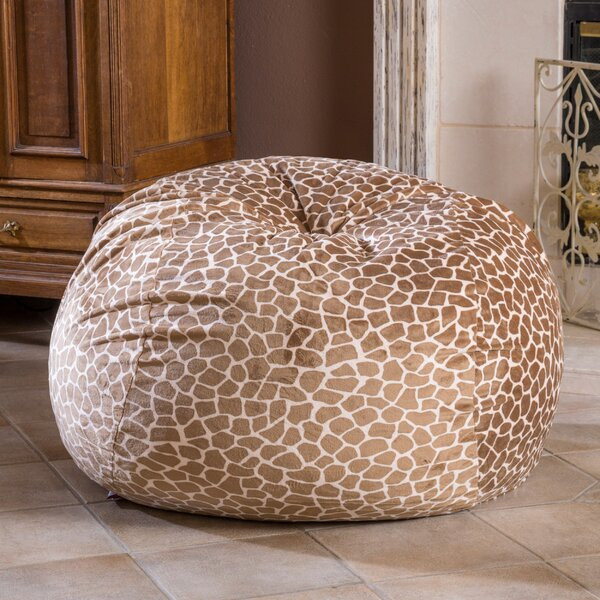 Giraffe Bean Bag Chair by Zoomie Kids