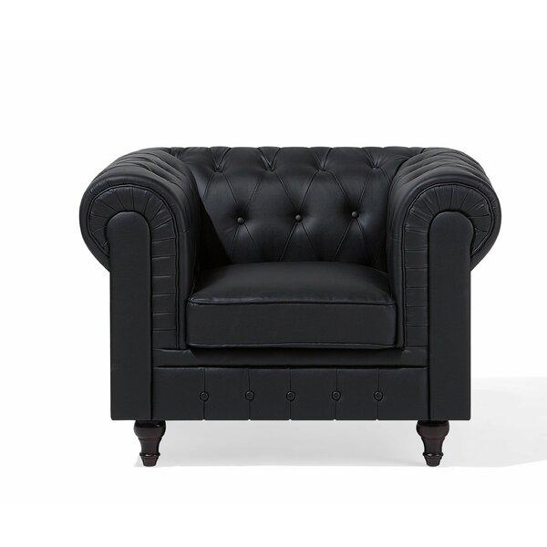 Chatman Chesterfield Chair by Alcott Hill