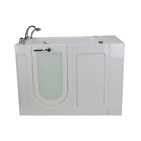 Malibu Air and Hydro Massage 30 x 52 Walk in Air/Whirlpool Bathtub by Ella Walk In Baths