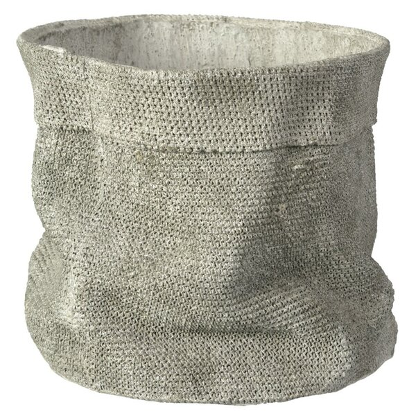 Jacksonville Jute Like Cemented Pot Planter by Ophelia & Co.