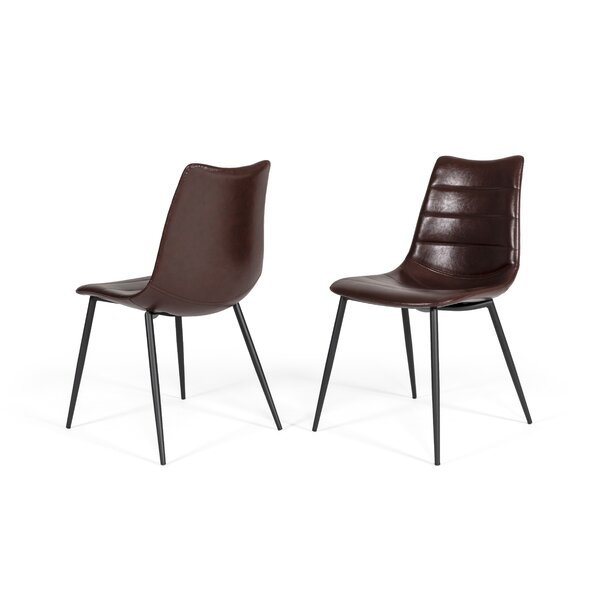 Sheree Brown Upholstered Dining Chair (Set Of 2) By 17 Stories