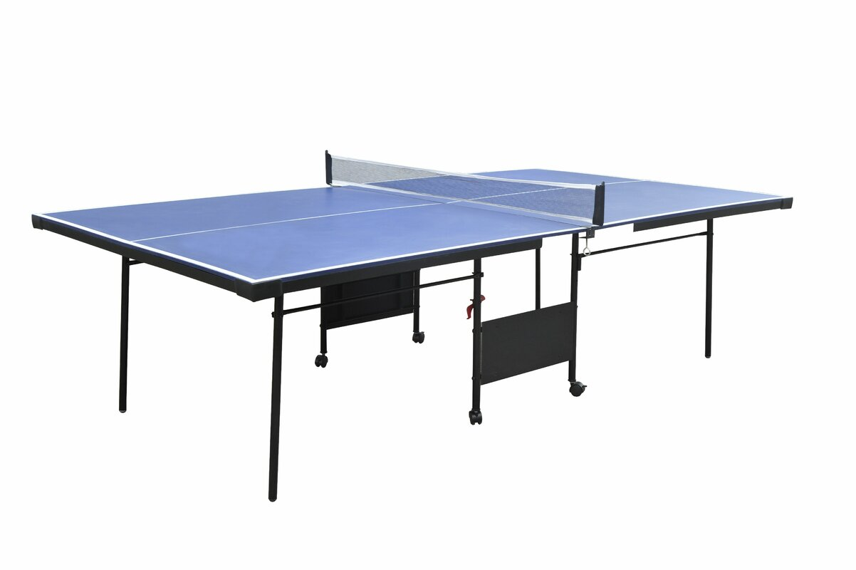 Official ping pong table height for Regulation 85 table a