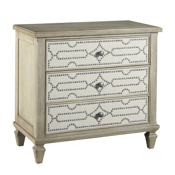 Soares 3 Drawer Bachelors Chest by Bay Isle Home