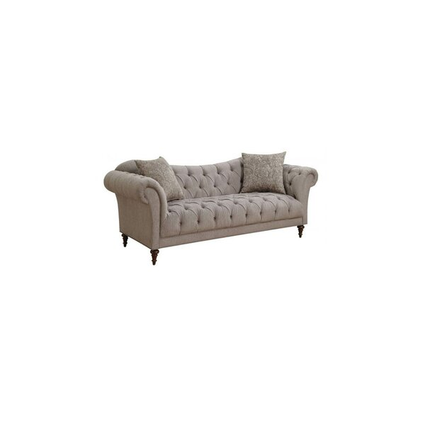 Haygood Chesterfield Sofa by Alcott Hill