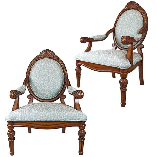Victorian Armchair (Set of 2) by Design Toscano