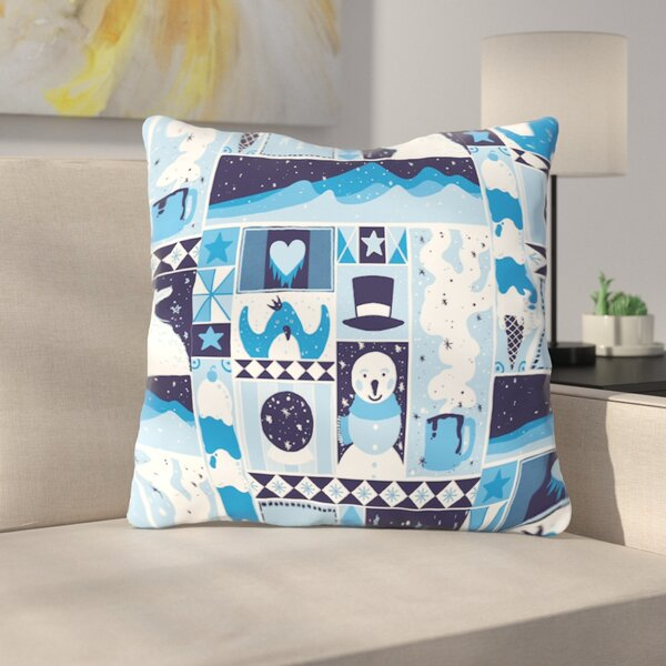 Winter by Tobe Fonseca Throw Pillow by East Urban Home