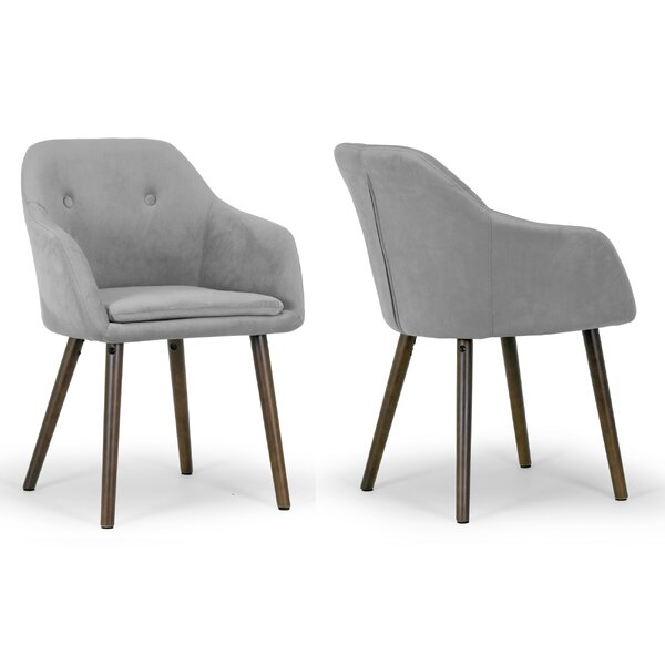 Best Choices Alba Arm Chair (Set Of 2) By Glamour Home Decor Herry Up