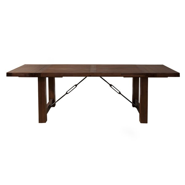 Piumafua Extendable Dining Table by Loon Peak