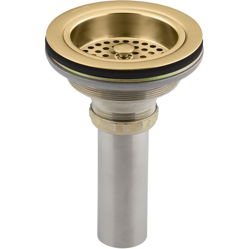 Kohler Duostrainer Sink Drain And Strainer With Tailpiece