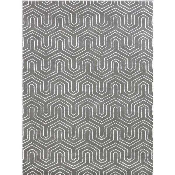 Kamena Hand-Tufted Beige Area Rug by Mercer41