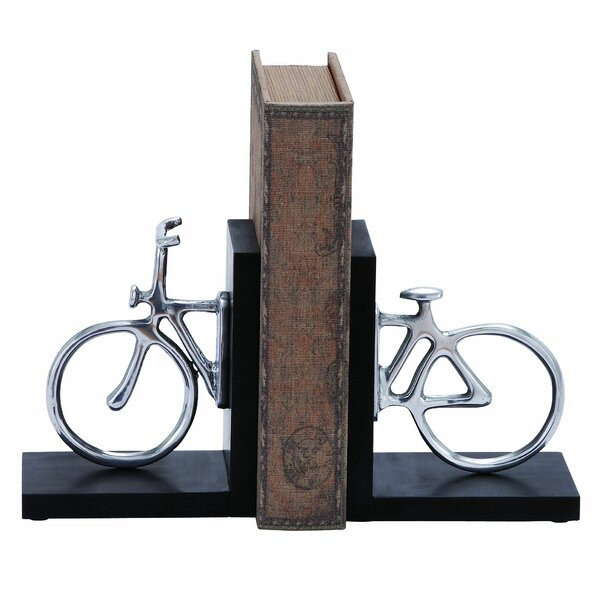 Cycle Book Ends (Set of 2) by Wrought Studio