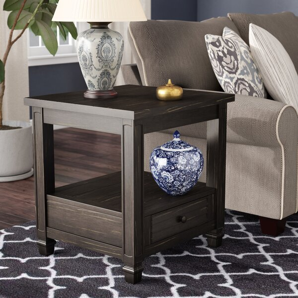 Massimo End Table By Alcott Hill