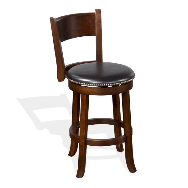 Cappuccino 24 Swivel Bar Stool by Sunny Designs