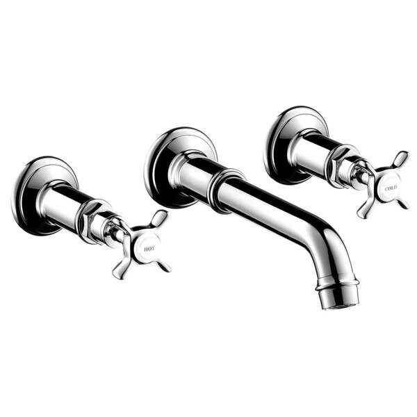 Axor Montreux Two Handle Wall Mounted Faucet by Axor