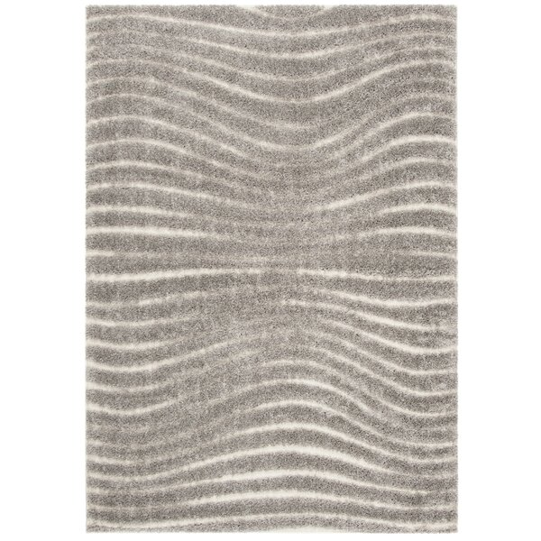 West Village Gray Area Rug by George Oliver