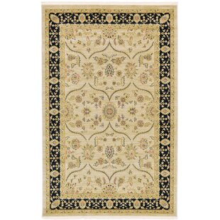 Buy clear Fonciere Cream Area Rug By World Menagerie