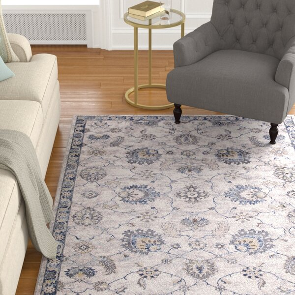Reames Mahal Blue Area Rug by Charlton Home