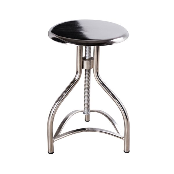 Adjustable Height Swivel Bar Stool By Wildon Home® by Wildon Home® Sale