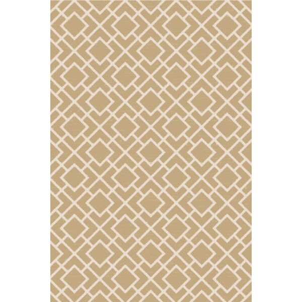 Berkeley Ivory/Beige Area Rug by Langley Street