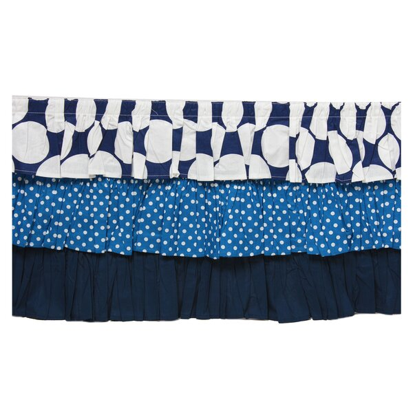 Mix N Match Dots Crib Skirt by Bacati