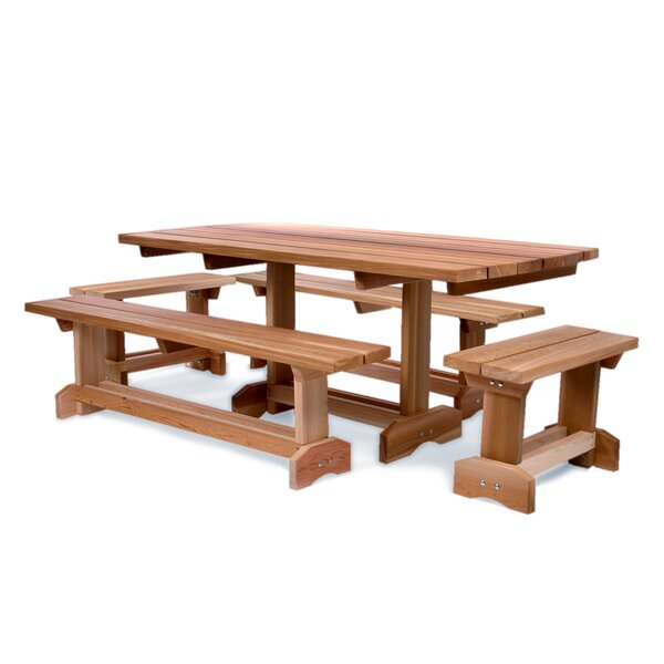 Ardoin 5 Piece Dining Set by Union Rustic