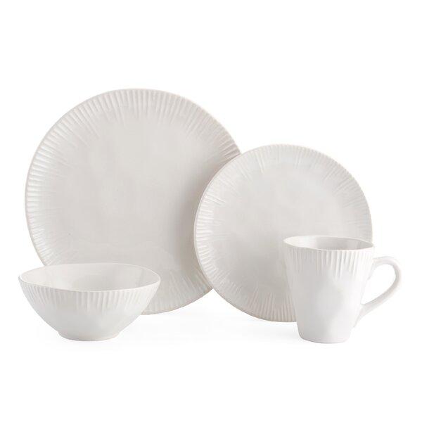 Birch 16 Piece Dinnerware Set, Service for 4 by Pfaltzgraff