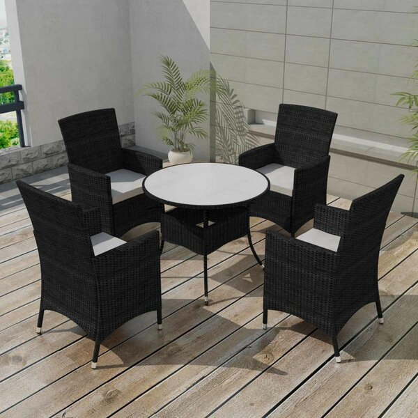 Franco Garden 5 Piece Dining Set with Cushions by Brayden Studio