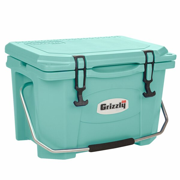 20 Qt. RotoMolded Cooler by Grizzly Coolers