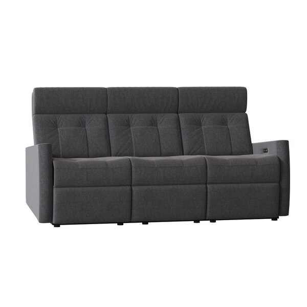 Waverly Reclining 78-inch Square Arm Sofa By Palliser Furniture