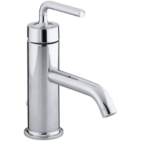 Purist Single hole Bathroom Faucet with Drain Asse