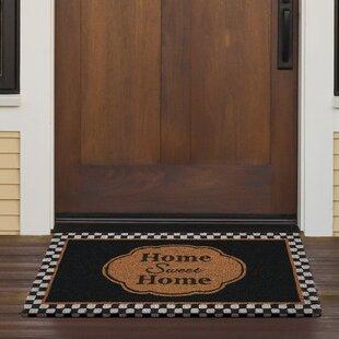 Pfaeffle Sweet Home Coir Doormat & Indoor Door Mats Youu0027ll Love | Wayfair