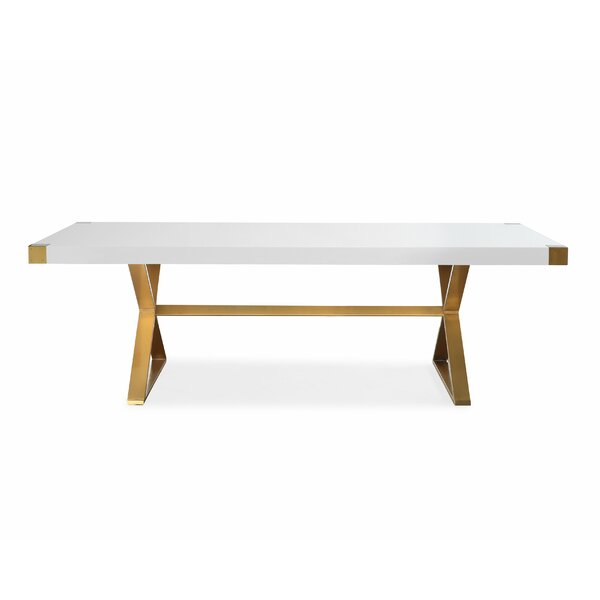 Alverez Dining Table by Everly Quinn