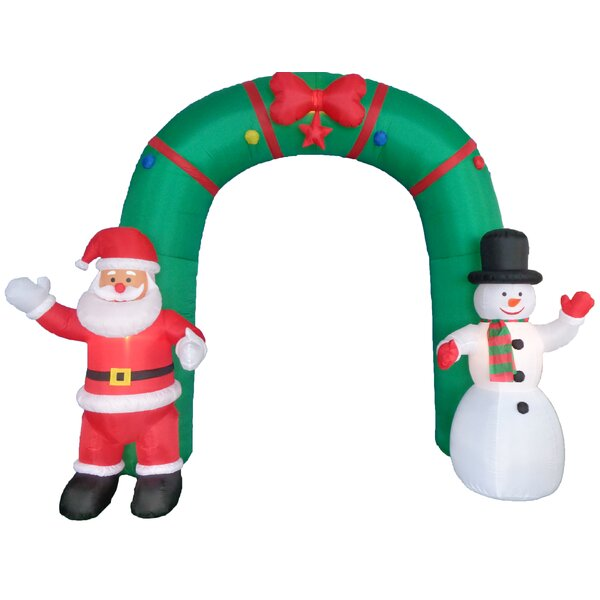 Christmas Inflatable Archway Indoor/Outdoor Decora